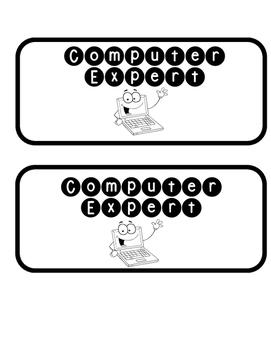 Computer Expert Tag