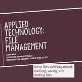 Computer File and Folder Management