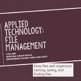 Computer File and Folder Management