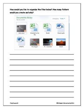Computer Folders (Upper Elementary)