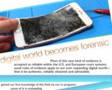 Computer Forensics Digital Criminal Law Leading Cases Tech