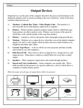 Computer Fundamentals, Handouts and Worksheets