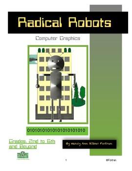 Computer Graphics Partially Symmetrical Robot