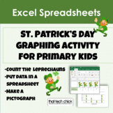 "Computer Graphing for K-1  ""How Many Leprechauns?"" for MS Excel"