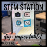 Computer Hardware: Build Your Own Paper Tablet | Printable