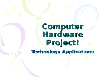 Computer Hardware Choices project