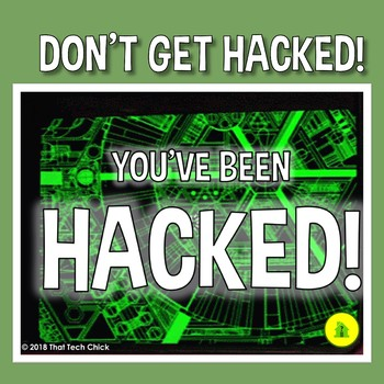 Computer Hardware Identification Game - You've Been Hacked!