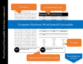 Computer Hardware Word Search/Unscramble Activity