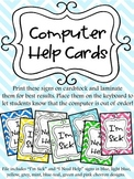 Computer Help Cards Chevron