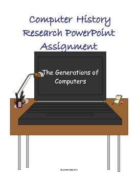 Computer History PowerPoint Assignment