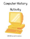 Computer History Activity