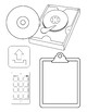 Computer Icons Digital Clipart Black and White