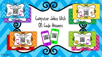 Computer Jokes with QR Code Answers