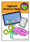 Computer Keyboard Shortcut Display