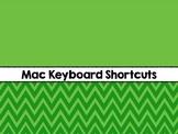 Computer Keyboard Shortcuts (Mac)