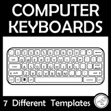 Computer Keyboard Template