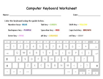 picture about Printable Keyboarding Worksheets identified as Keyboarding Worksheets Instructors Pay out Academics