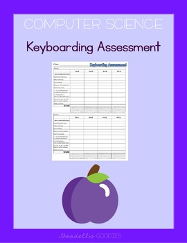 Computer Keyboarding Assessment