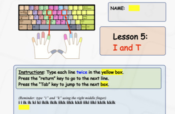 Beginner Computer Keyboarding Skills - Touch Typing