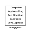 Computer Keyboarding for English Language Development