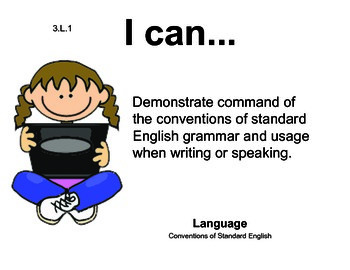 Computer Kids 3rd grade English Common core standards posters