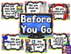 Computer Lab - Before You Go Posters
