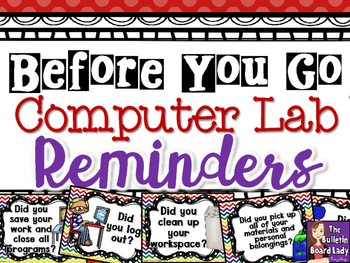 Computer Lab Before You Go Posters 2520146 on Go Math Worksheets Grade 3