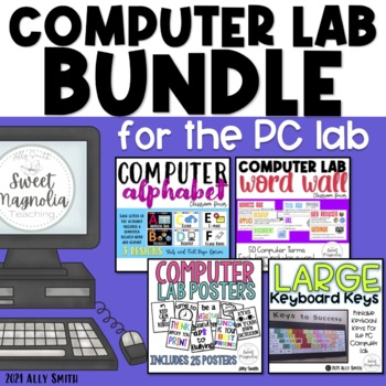 Computer Lab Bundle Pack For Pc By Elementary Techie Teacher Tpt
