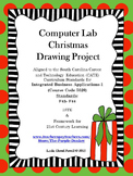 Computer Lab Christmas Drawing Project