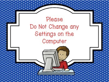 Computer Lab Classroom Rules
