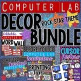 Computer Lab Decor BUNDLE - Rock Star