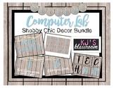 Computer Lab Decor Bundle - Shabby Chic