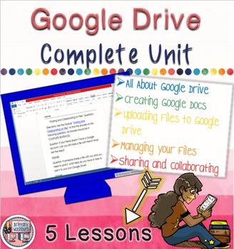 Computer Lab Lessons - Google Drive Complete Unit
