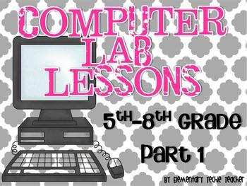 Computer Lab Lessons Part 1