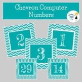Computer Lab Login Info & Computer Numbers Chevron - Edita