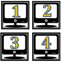 Computer Lab Numbers Template