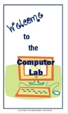 Computer Lab Poster ~ Free! - Welcome to the Computer
