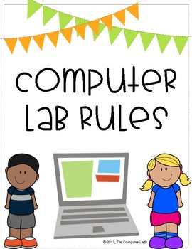 Computer Lab Rules By The Lady