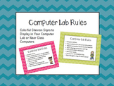 Computer Rules Signs