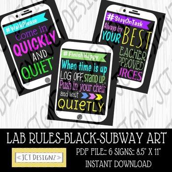 ipad style lab Rules, Subway Art, Technology Rules, Subway Art, Subway Art Rules