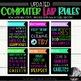 BUNDLE: Lab Rules, Subway Art, Technology Rules, Subway Art, Subway Art Rules
