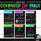 BUNDLE: Lab Rules, Subway Art, Technology Rules, Subway Ar