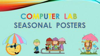 Computer Lab Seasonal Posters