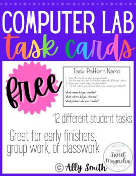 Computer Lab Task Cards