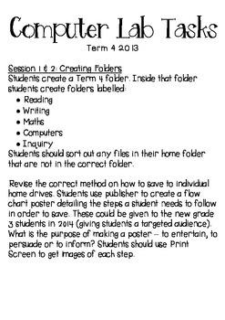 Computer Lab Tasks Planner 2