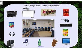 Computer Lab introductory activities SMARTBoard file