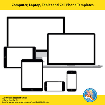 Computer, Laptop, Tablet and Cell Phone Backgrounds
