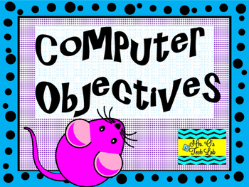 Computer Learning Objectives