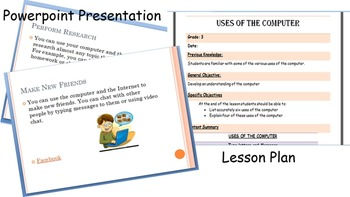 Computer Lesson Plan - Uses of the Computer
