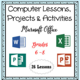 Computer Lessons for Word, Excel, PowerPoint, Publisher, & More